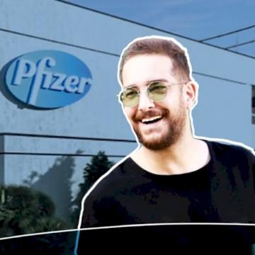 Pfizer'de bir gün
